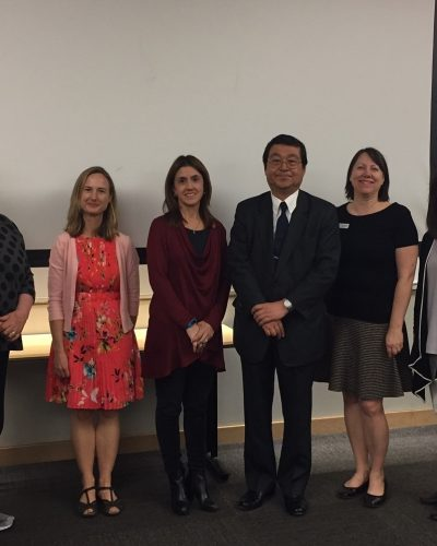 Japanese Consul and LLAC staff