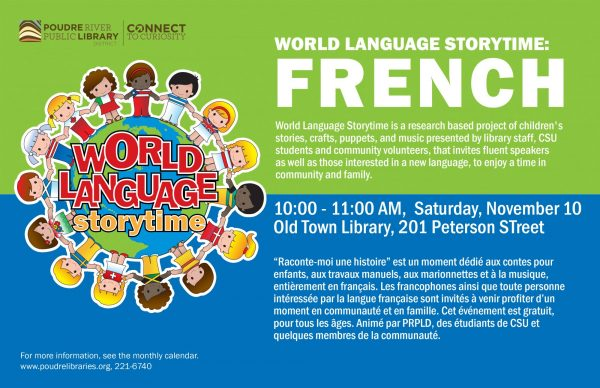 World Language Story Time: French